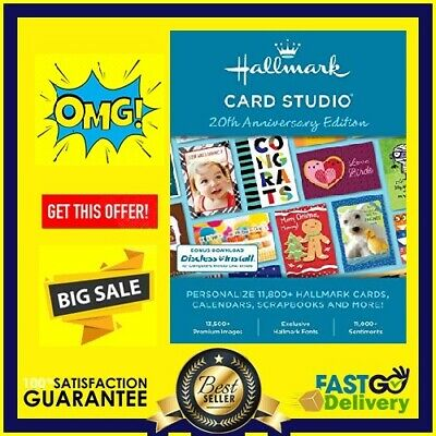 Hallmark card studio 2020 Deluxe 🔓 Lifetime Activation ✅ Instant Delivery