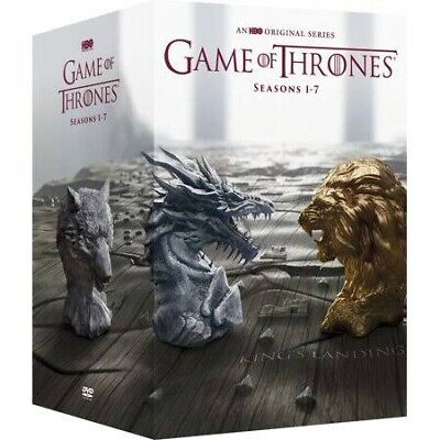 GENUINE Game Of Thrones HBO The Complete Seasons 1-7 New Sealed DVD Box set