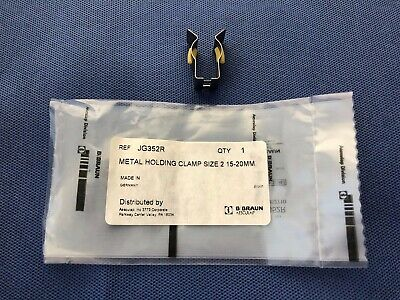 B Braun Aesculap Instrument Organization System Metal Holding Clamp JG352R