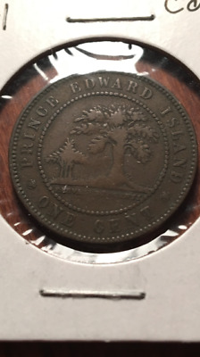 1971 Prince Edward Island Large Cent - reverse dies
