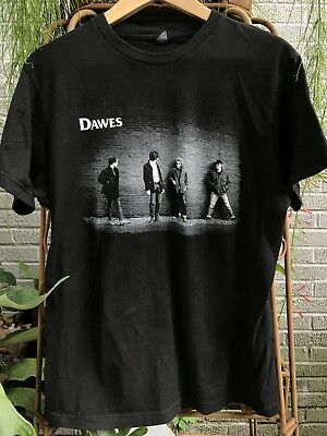 Dawes 2015 Tour T Shirt Med Size Good Cond Indie Folk Rock Band