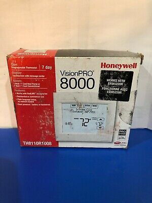 Honeywell vision pro 8000 thermostat. (TH8110R1008)