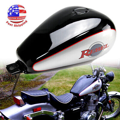 Motorcycle 3.4 gallons Fuel Gas Tank For Honda CMX250 CMX 250 Rebel 1985-2016 15