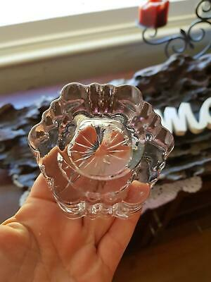 Antique Glass Piano Insulator - Rare Manganese Glass