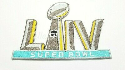 Super Bowl LIV 54 Iron On Sewn On Embroidered Jersey Patch