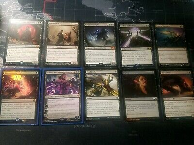 Nice Lot of MTG Magic The Gathering Cards Foil thoughtseize, Liliana, fatal ++++