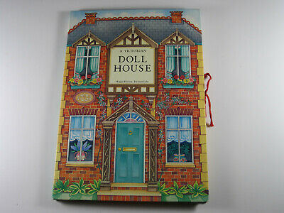 Vintage Victorian Dollhouse 3-D Pop Up Book 1991 1st Edition St. Martin's Press