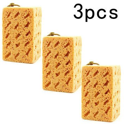 3x Large Car Sponge Hand Cleaning Washing Dirt Wash Van Home Necessaries Z5H