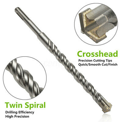 6mm-16mm SDS Plus Masonry Hammer Drill Bits For Bosch Concrete 210mm ‖*A
