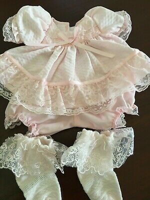 beautiful soft pink dress to fit a my child doll