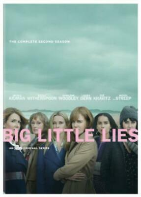 BIG LITTLE LIES: COMPLETE SECOND SEASON (Region 1 DVD,US Import,sealed.)