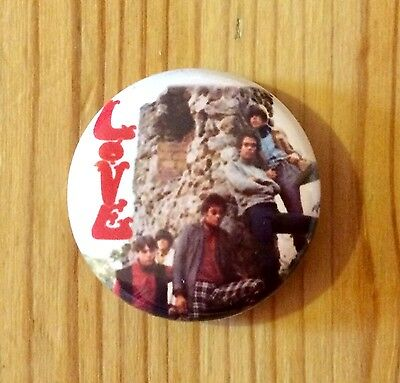 LOVE (BAND)  - BUTTON PIN BADGE (25mm)
