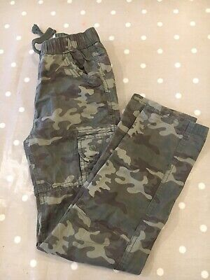 Boys Fat Face Cargo Casual Trousers Age 9