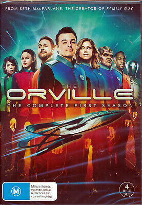 The Orville Series Complete First Season One 1 DVD NEW Region 4