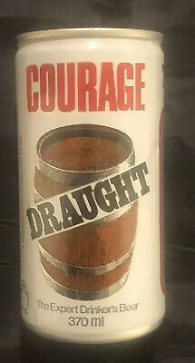 Collectable Vintage Courage DRAUGHT 1974 AMERICAS CUP CHALLENGE BEER CAN