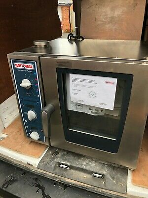 Rational CMPXS 6 Grid 2/3GN Electric CombiMaster Plus XS Combination Oven 3PH