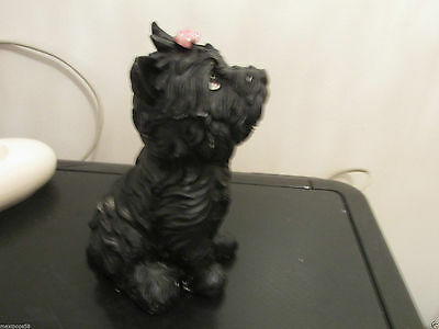 """Dogs and ornaments - latex mould mold of a Westie Dog 5.5"""" tall"""