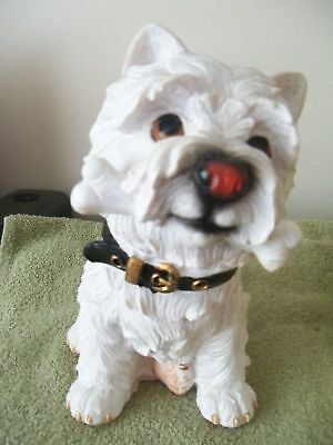 Dogs And Ornaments, Thick Latex Mould Of A Westie 17Cms X 12Cms