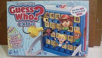 Electronic Guess Who Game by Hasbro