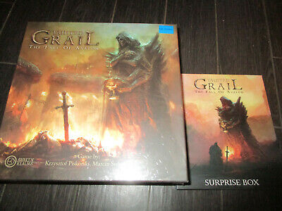 NEW TAINTED GRAIL The Fall of Avalon Kickstarter Exclusive Wave 1 + NIAMH Pledge