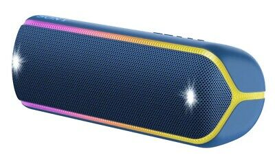 Sony SRS-XB32 Extra Bass Portable Bluetooth Speaker Blue New Free Shipping