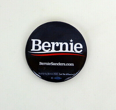 Bernie Sanders For President 2020 Official Campaign Pinback Pin Button