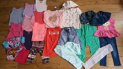 Next TU etc Girls Dresses Tops Jeans Clothes Bundle 2-3 years 21 items some BNWT