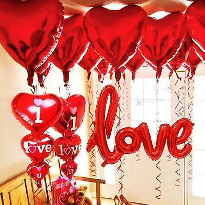 Red Love Heart Design Balloons For Your Special Loved One, For valentines Day