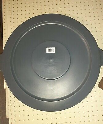 Gray Lid For 32 Gallon Brute Can