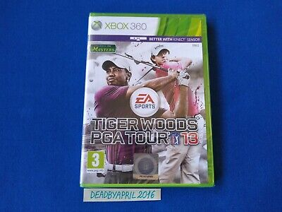 Tiger Woods PGA Tour 13 Xbox 360 PAL(New/Factory Sealed)