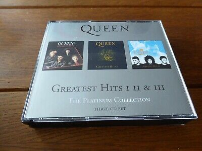 QUEEN The Platinum Collection 3CD Greatest Hits Vols 1-3 2000 Parlophone