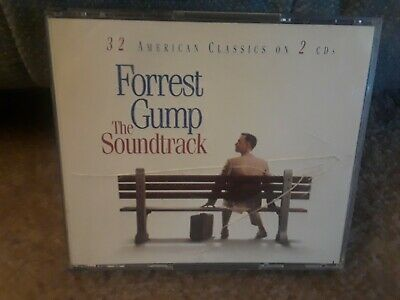 Japan Import-Forrest Gump: The Soundtrack 32 American classics 2xCD 1994 Sony