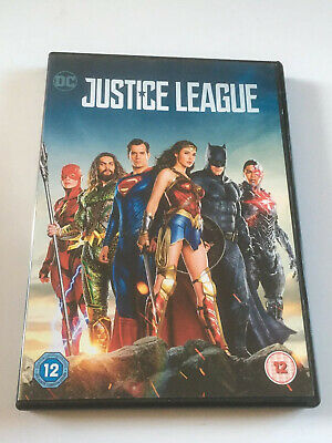 Justice League DC (2018) GENUINE UK (region 2) DVD Ben Affleck Henry Cavill MINT