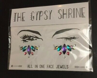 The Gypsy Shrine all in one face jewels - Brand New - Dancing Queen Under Eye