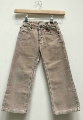 Boys Timberland Stone Corduroy Cord Straight Trousers Size Kids Age 4 Years