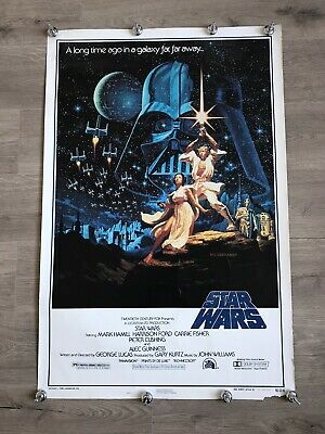 Star Wars - A New Hope Poster 1982