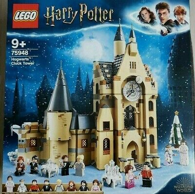 Harry Potter Lego Hogwarts Clock Tower: 75948 Brand New