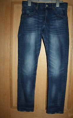 Boys H & M Blue Jeans  Age 11-12 Tapered Leg