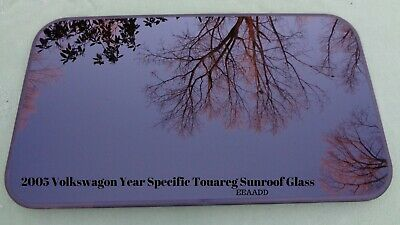 2005 Volkswagon Year Specific Touareg Oem Factory Sunroof Glass Panel Free Ship