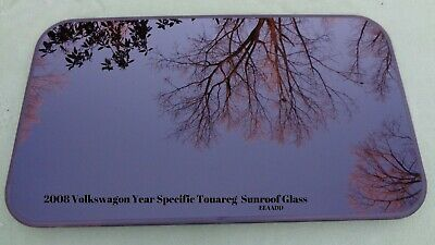 2008 Volkswagon Year Specific Touareg Oem Factory Sunroof Glass Panel Free Ship