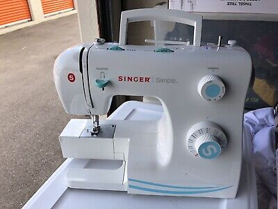 SINGER Simple Sewing Machine Model 2263 No Cords Working Tested
