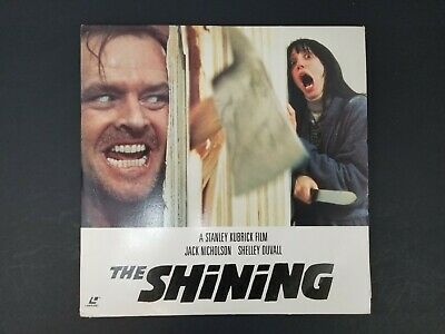Stephen King's The Shining Laserdisc 2 Disc Set Jack Nicholson & Shelley Duvall
