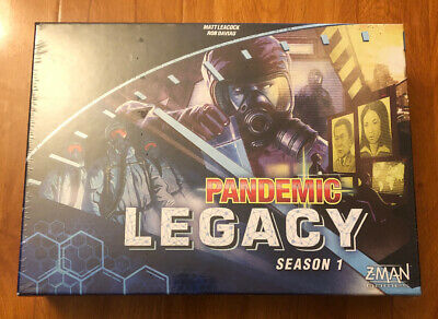 Pandemic Legacy  Season 1 Board Game Blue Edition - New & Sealed.