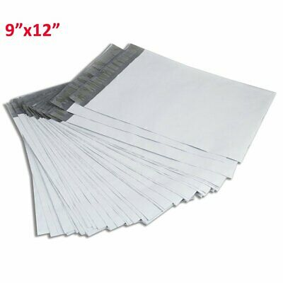 100 9x12 Self Sealing Poly Mailers Envelopes Mailing Plastic Bags Free Shipping