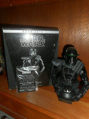 Star Wars Death Trooper Specialist - Collectible Mini Bust, Rogue One Crew 2015