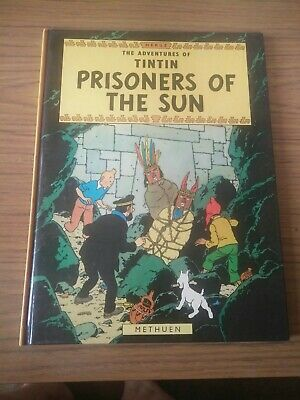 Vintage HERGE The Adventures of TinTin THE PRISONERS OF THE SUN