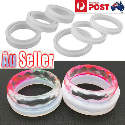 Silicone Faceted Bangle Bracelet Jewelry Making Mold Resin Casting Epoxy Mould
