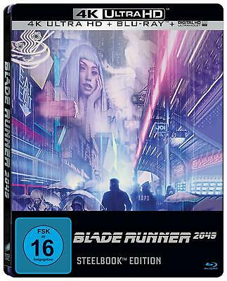 BLADE RUNNER 2049 (Ryan Gosling) 4K Ultra HD + Blu-ray Disc, Steelbook NEU+OVP
