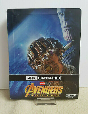 Avengers Infinity War Steelbook Bluray 4k Fnac Marvel