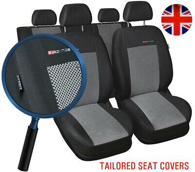 Fully Tailored Car seat covers for KIA Picanto II 5 door 2011 - 2017 full set